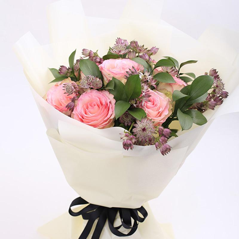 厄瓜多尔粉玫瑰x24枝